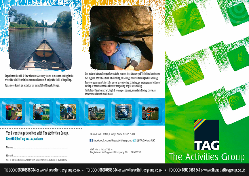 Activities group Leaflet Design